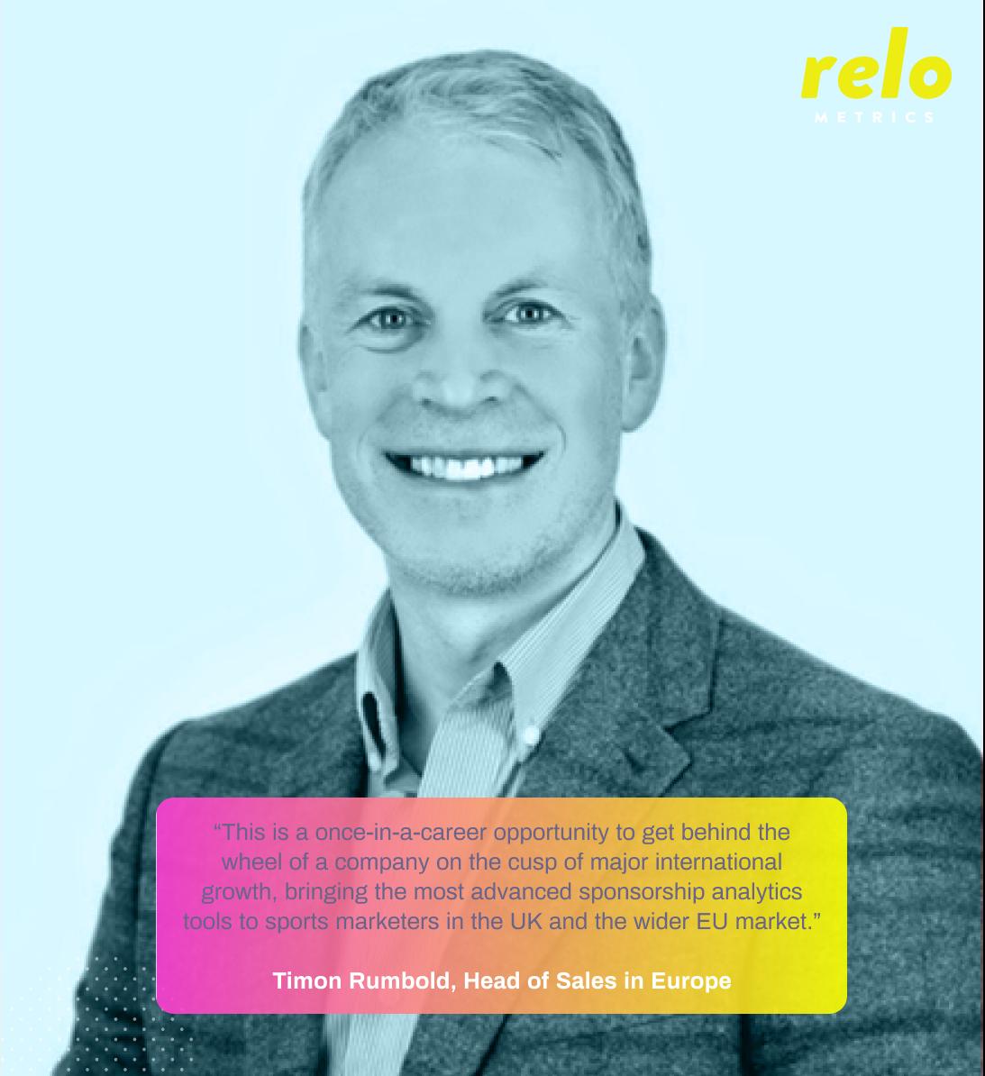 Relo Metrics Announces New Head of Sales for Europe